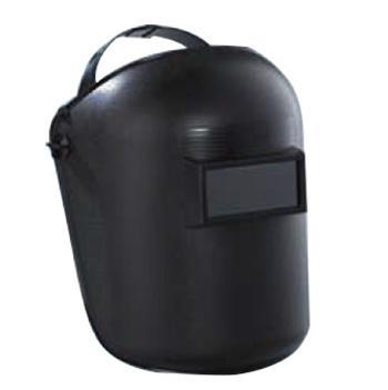 蓝鹰 焊接面罩,635P,含镜片 头戴固定式焊接面罩 视窗尺寸:108*51mm