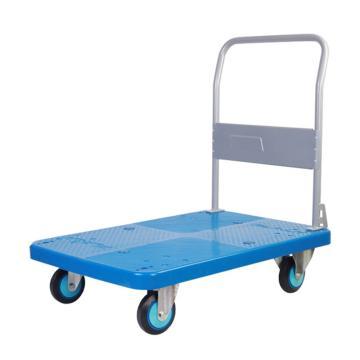 连和 全静轮单层固定式手扶手推车,铁支架轮 250KG,PLA250Y