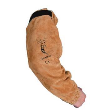 威特仕 焊接袖套,44-2321,牛二层芯皮手袖 53cm长