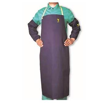 威特仕 焊接围裙,33-8036,雄蜂王海军蓝护胸围裙 91cm长