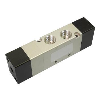 亚德客AirTAC 气控阀,3位5通双气控中泄式,4A330E-10