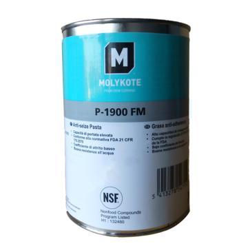 摩力克 食品级润滑脂,P-1900FM,1KG/罐