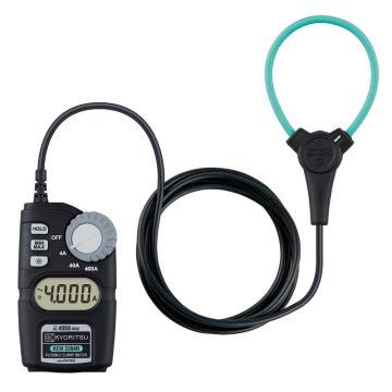 克列茨/KYORITSU 柔性大钳口电流表,2204R,400A真有效值