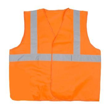 代尔塔Delta 梭织荧光马甲 ,404402,橙色,均码