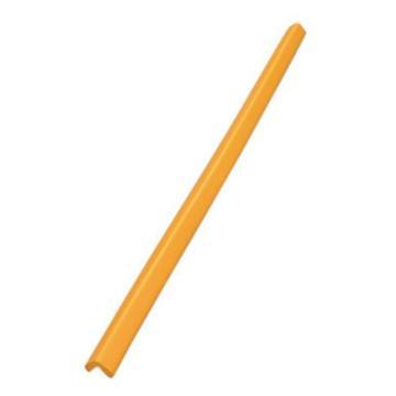 安赛瑞 经济型防撞条(直角),发泡橡胶材质,黄色,48×48×900mm,14491