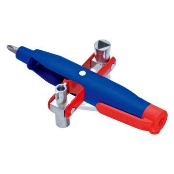 凯尼派克 Knipex 笔型控制柜钥匙,长度147mm,00 11 07