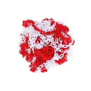 安赛瑞 塑料隔离链条,高强度塑料材质,红白相间,25m/卷,14487
