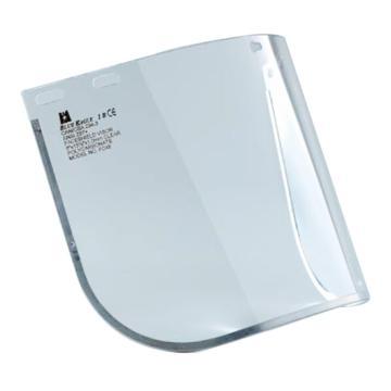 蓝鹰 防护面屏,FC48,1.0mmPC防护面屏 透明 不含支架