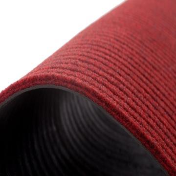 """丽施美 """"3000型"""" 通用型除尘防滑地垫,红色 1.2*1.8m,单位:块"""