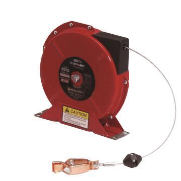 Reelcraft 弹簧驱动静电接地卷轴,含缆绳,G3050