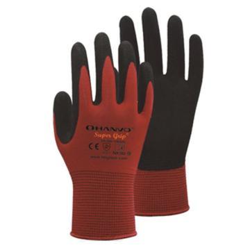 恒辉 丁腈涂层手套,NX302-8,13针尼龙掌浸