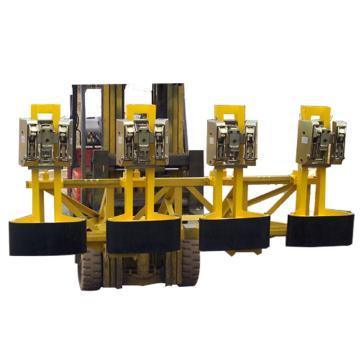 汉利 四桶重型桶夹,额定载荷(kg):3600 长*宽*高(mm):1170*2220*990,4DCM