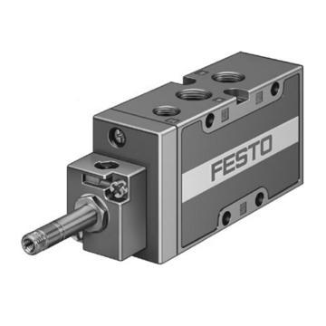 费斯托FESTO 电磁阀,2位5通单电控,不含线圈,MFH-5-1/4-B,15901