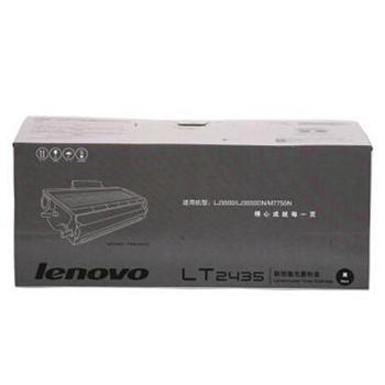 联想 墨粉,LT2435 黑色 (适用 LJ3500/3550DN/7750N、3500页) 单位:个