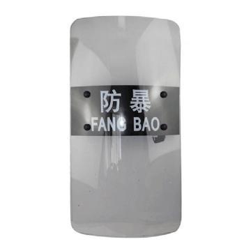 手持式透明PC防暴盾牌,900×500