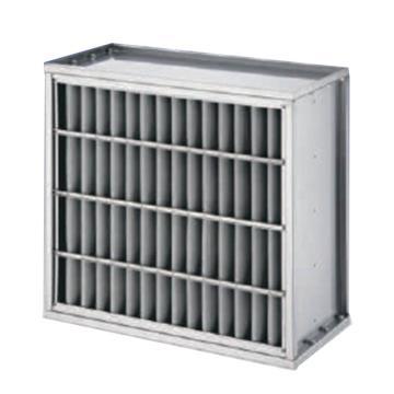 AAF Varicel I HT-400NS系列400℃不锈钢框耐高温中效过滤器,610×610×290mm,过滤效率F8