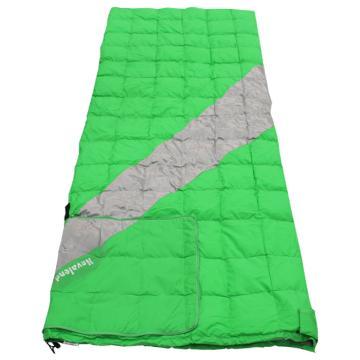 纳瓦兰德 新款信封(靠垫设计)羽绒睡袋,800克鸭绒 零下16度~零下2度 绿色 单位:个