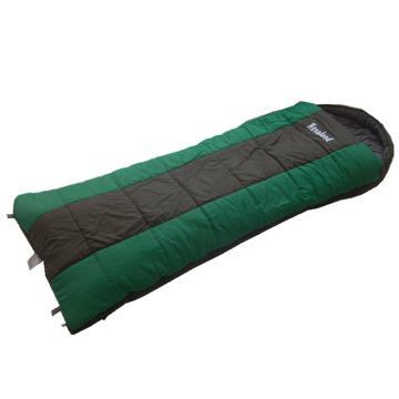 纳瓦兰德 信封380克中空棉睡袋,加长加宽尺寸:230*90cm 绿色 0℃~5℃ 单位:个