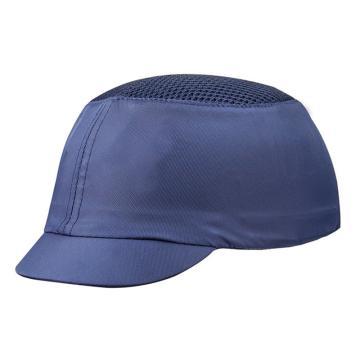 代尔塔DELTAPLUS 运动安全帽,102050,轻型透气防撞 藏青色 帽檐5cm,20顶/箱