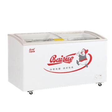 白雪 238L转换型冷冻冷藏展示柜,SD/C-238F(H),热反射镀膜弧面钢化玻璃移门,带便携式门锁