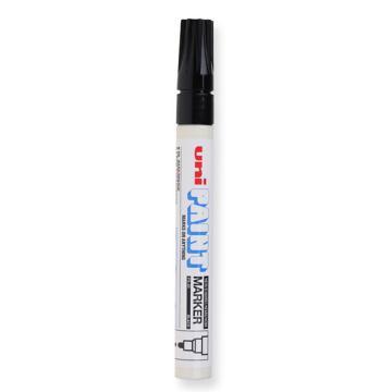 三菱 uni 记号笔, 油性记号笔 PX-20 2.2-2.8mm (黑色)粗头单支