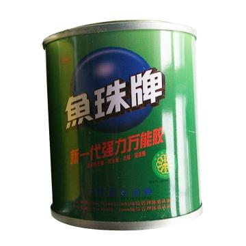 鱼珠 新一代强力万能胶,绿色瓶,80g/罐