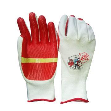 牛郎星 红胶涂层手套,胶片手套(红胶)