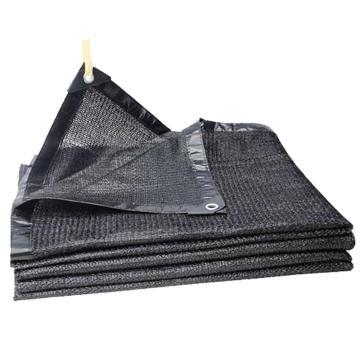 西域推荐 黑色包边遮阳网打孔,6针,尺寸(m):10*50