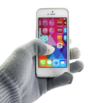LOUKIN 触摸屏手套, 灰色 单位:副