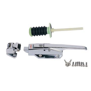 格美 平门冷冻库带锁芯安全把手,CM-1178-P(锌合金 /附不锈钢螺丝),附CM-1178-E2塑胶纤维安全推杆