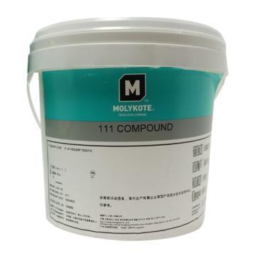 摩力克 多用途硅脂,111 COMPOUND,3.6kg/桶