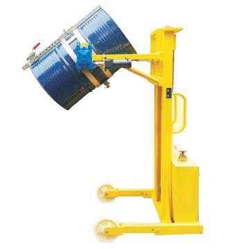 汉利 电动旋转起升油桶搬运车,额定载荷(kg):380/桶 长*宽*高(mm):1430*980*2020,TD-850-PL