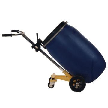 汉利 四轮油桶手推车,额定载荷(kg):450 长*宽*高(mm):1430*630*650,HT10-4W-PNC(特殊塑料桶专用)