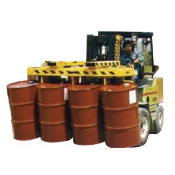 汉利 八桶叉车用桶夹,额定载荷(kg):900/桶 长*宽*高(mm):1770*1155*685,L8F