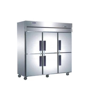 广东星星 格林斯达C系六门双机单温柜,D1.6C6 ,1810×730×1940mm,内外箱201#不锈钢,铜管蒸发器