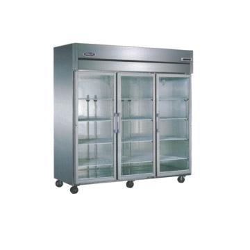 广东星星 格林斯达C系三玻璃门展柜,SG1.6C3,1810×730×1940mm,内外箱201#不锈钢,铜管蒸发器