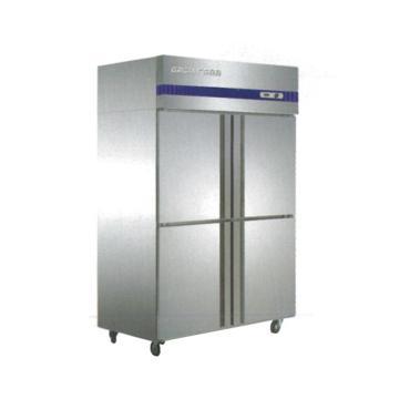 广东星星 格林斯达E系 四门冷冻柜,D1.0E4,1220×692×1910mm,内外箱201#不锈钢