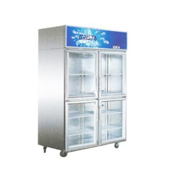 广东星星 格林斯达E系 四玻璃门展示柜,SG1.0E4,1220×692×1910mm,内外箱201#不锈钢