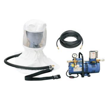 羿科 长管呼吸器,60423803,头罩式长管呼吸器 包括3/4马力泵 头罩 15米气管