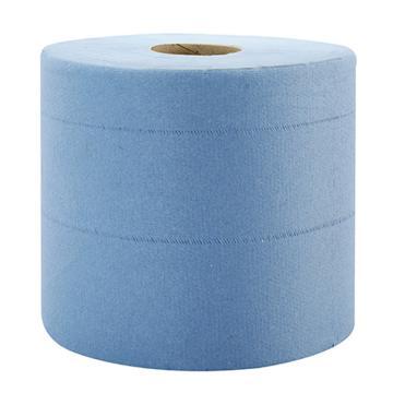 金佰利劲拭 L10 中央抽取式擦拭纸,大卷式蓝色7494,18.5cm x 38.0cm 630张/卷 x 6卷/箱