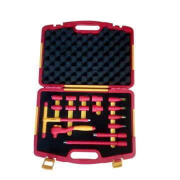 史丹利16件10MM系列绝缘工具组套,STMT75885-8-23