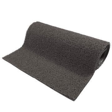 爱柯部落细丝有底圈丝控尘地垫,灰色 1.2*5m*11mm,单位:片