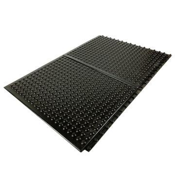 爱柯部落凸点抗疲劳地垫,黑色 45cm*60cm*1cm 单位:片