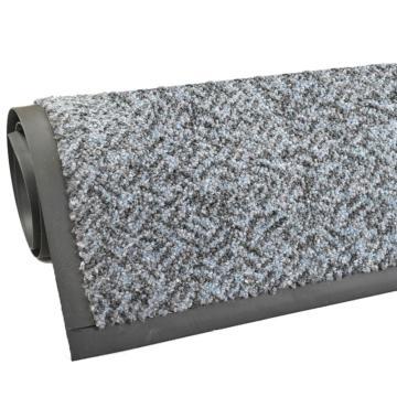 爱柯部落强力刮尘吸水地垫,浅灰色 200*600cm*1cm,单位:片