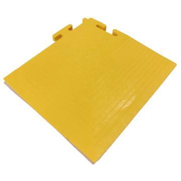 爱柯部落耐磨耐压防滑工业地板砖转角,PVC 120*120mm,单位:片