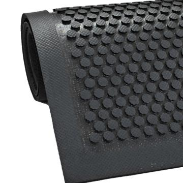 爱柯部落抗疲劳地垫,抗静电耐油抗疲劳橡胶地垫,84*60 cm*9mm 单位:片