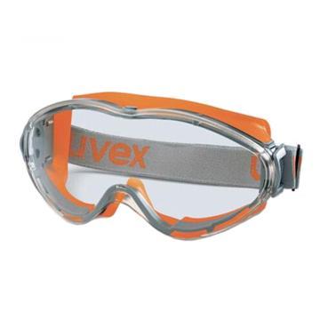 优唯斯UVEX 护目镜,9002245,透明镜片 黄色镜框护目镜(疫情专供,现货,数量有限)