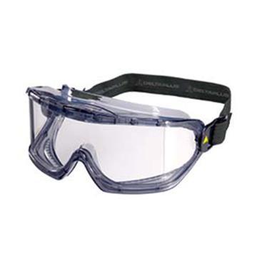 代尔塔DELTAPLUS 护目镜,101104,GALERAS CLEAR豪华防雾安全护目镜