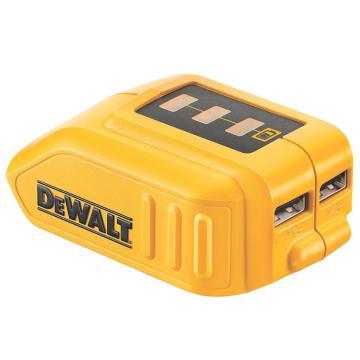 得伟充电器,10.8-18V通用锂电USB充电转换器,DCB090