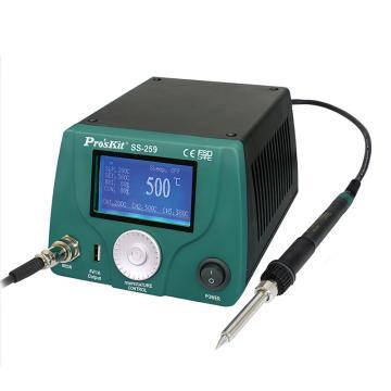 宝工 Pro'skit LCD 智能型温控焊台,90W,SS-259H